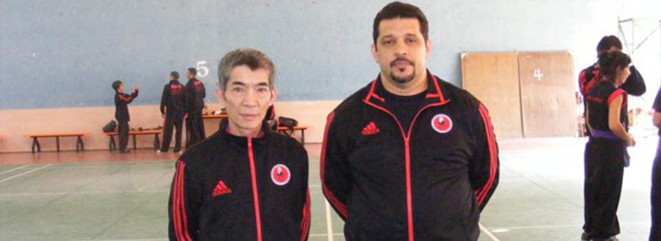 Gran Maestro Chen Yong Fa y Discípulo John La Touche China 2010