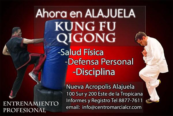 Clases de Kung Fu Choy Lee Fut y Lohan Qigong en Alajuela. Kung Fu Costa Rica